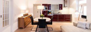 ferienwohnung buchen binz bild küchenzeile