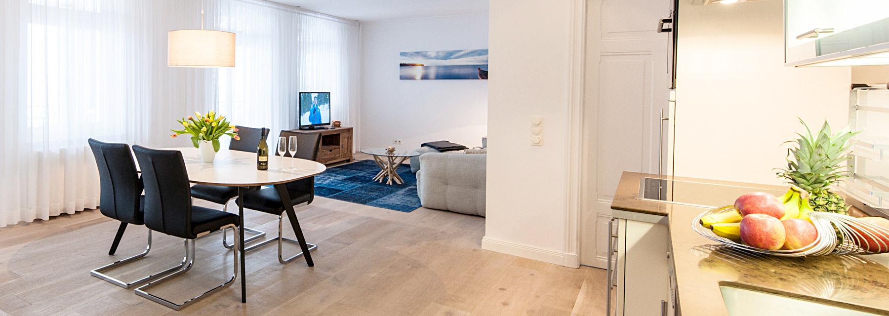 modernes appartement binz