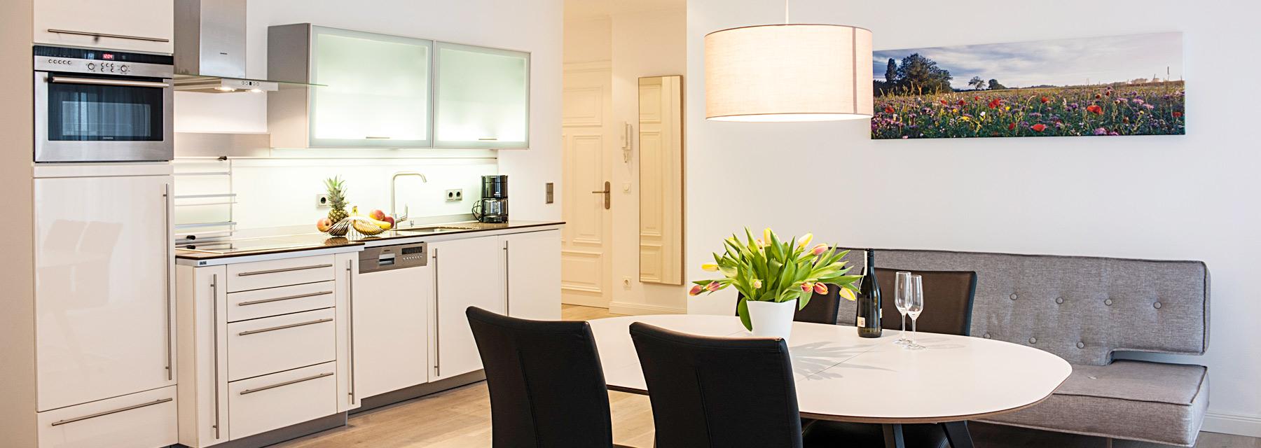 moderne küchenzeile binz